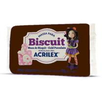 Massa de Porcelana Fria Biscuit 90G Marron - Acrilex