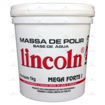 Massa P/ Polir Base Água Mega Forte 1 - Lincoln -