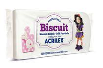 Massa para Biscuit Branco 519 500g Acrilex -