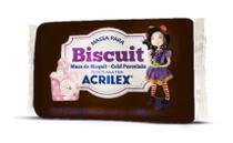Massa para Biscuit Preto 520 90g Acrilex -