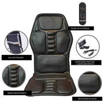 Massageador Assento para Pés Costas Coxa Lombar Shiatsu Foot Massager Ultra Relax Seat Uitech -