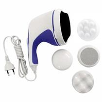Massageador Orbital Modelador Portátil - Afina A Cintura, Drenagem Linfática P/ Celulite, Flacidez - Rst