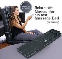 Massageador shiatsu massage bed rm-es1700a - relaxmedic -