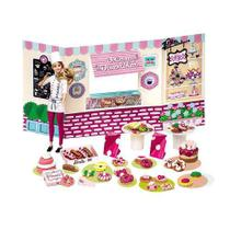 Massinha barbie food truck doceria e delicias - Fun