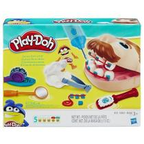 Massinha brincando de dentista play-doh - hasbro b5520