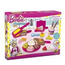 Massinha Da Barbie Sorveteria Divertida 76134 Fun