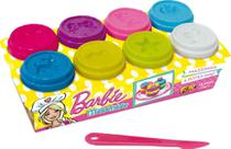 Massinha De Modelar Barbie 8 Potes 50g Fun