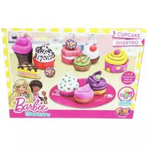 Massinha De Modelar Barbie Cupcake Divertido Fun