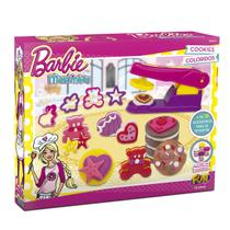 Massinha De Modelar Da Barbie Cookies Coloridos Fun