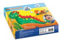 Massinha De Modelar Dinossauros Utiguti -