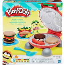Massinha de modelar play doh kit formas festa do hamburguer - Play-doy