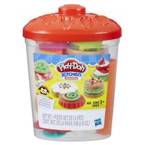 Massinha De Modelar Play-Doh Kit Pote de Doces Hasbro