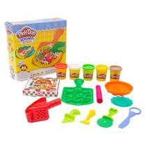 Massinha de Modelar Play-Doh Kitchen Creations Pizza 5 Potes Sortidos 3 Anos+ Hasbro - B1856 -