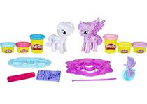 Massinha de modelar play doh my little pony moda divertida - hasbro b9717