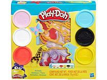 Massinha Play Doh Animais Hasbro - com Acessórios