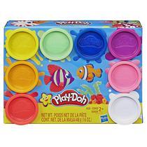 Massinha Play Doh Classic com 8 Potes Sortidos Hasbro E5062 -