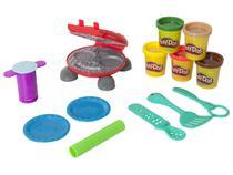 Massinha Play-Doh Festa do Hambúrguer - Hasbro com Acessórios