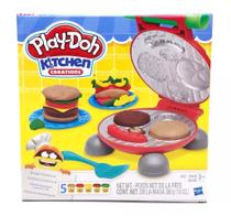 Massinha Play Doh Festa Do Hambúrguer Original Hasbro B5521