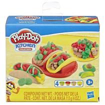 Massinha Play-Doh - Kit Comidas - Comidinha Mexicana E7447 - Hasbro -