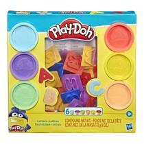 Massinha Play-doh  Letras E8532 - Hasbro -