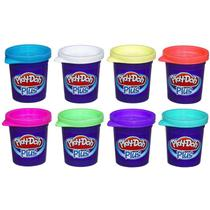 Massinha Play-Doh - Massinhas Plus com 8 Cores - Hasbro