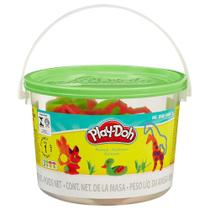 Massinha Play-Doh - Mini Balde Animais - Hasbro