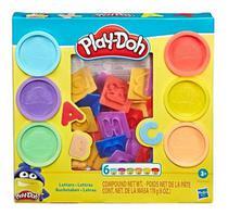 Massinha Play-doh Moldes De Letras - Hasbro Original -