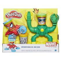 Massinha Play Doh Playset Spider Man X  Dr Octopus - Hasbro -