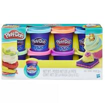 Massinha Play-Doh Plus Hasbro Colorido 8 Potes Hasbro