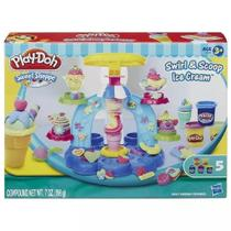 Massinha Play-doh Sorveteria Divertida - Hasbro B0306