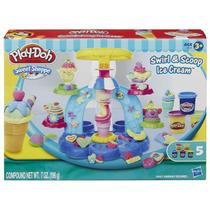 Massinha Play-Doh - Sorveteria Divertida - Hasbro