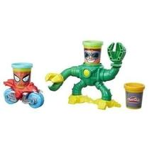 Massinha Play Doh Spider VS Doctor Octoplus B9364 - Hasbro