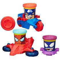 Massinha Play-Doh Veículos Marvel - Hasbro B0606