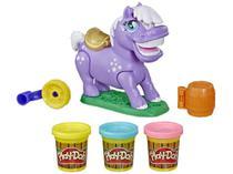 Massinha Pônei de Rodeio Play-Doh - com Acessórios