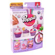 Massinha Poppit Kit Refil Dtc Minicupcakes -