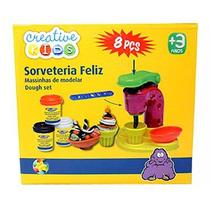 Massinha Sorveteria Feliz 0107987 Creative Kids