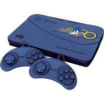 Master System Evolution Blue 132 Jogos 2 Joysticks - Tectoy