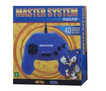 Master System Plug  Play - 40 Jogos na Memória - Azul - Tectoy -