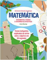 Matematica: 30 conceitos essenciais para criancas, descobertas, teorias - Publifolhinha