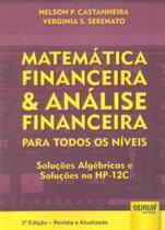 Matemática Financeira  Análise Financeira para Todos os Níveis - Juruá