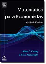 Matemática Para Economistas - Campus
