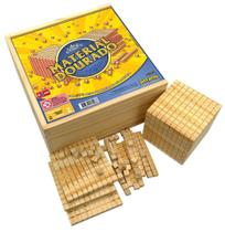 Material Dourado 611 Peças Caixa E Peças Em Madeira - Jott Play - Jottplay -