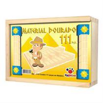 Material dourado com 111 peças - Ciabrink