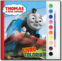 Mattel - aquarela - thomas e seus amigos - Dcl