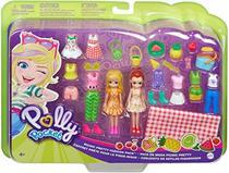 Mattel pp polly kit grande moda esportiva ggj48d - conjunto estilos piquenique gmn27 -