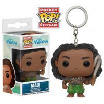 Maui - Disney Moana - Chaveiro Pocket Pop!  Funko -