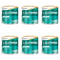 Maxinutri L- Glutamina Pura 300g (Kit C/06) -