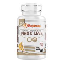 Maxx leve - levedo de cerveja em cápsulas 400 mg - suplemento alimentar melcoprol 60 cápsulas -