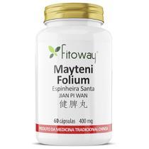Mayteni Folium Espinheira Santa 60 CÁPs 400mg Fitoway -
