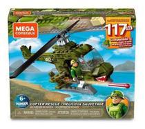 Mcx Mega Construx City Helicoptero Militar - Mattel Gny51 - Brinquedos
